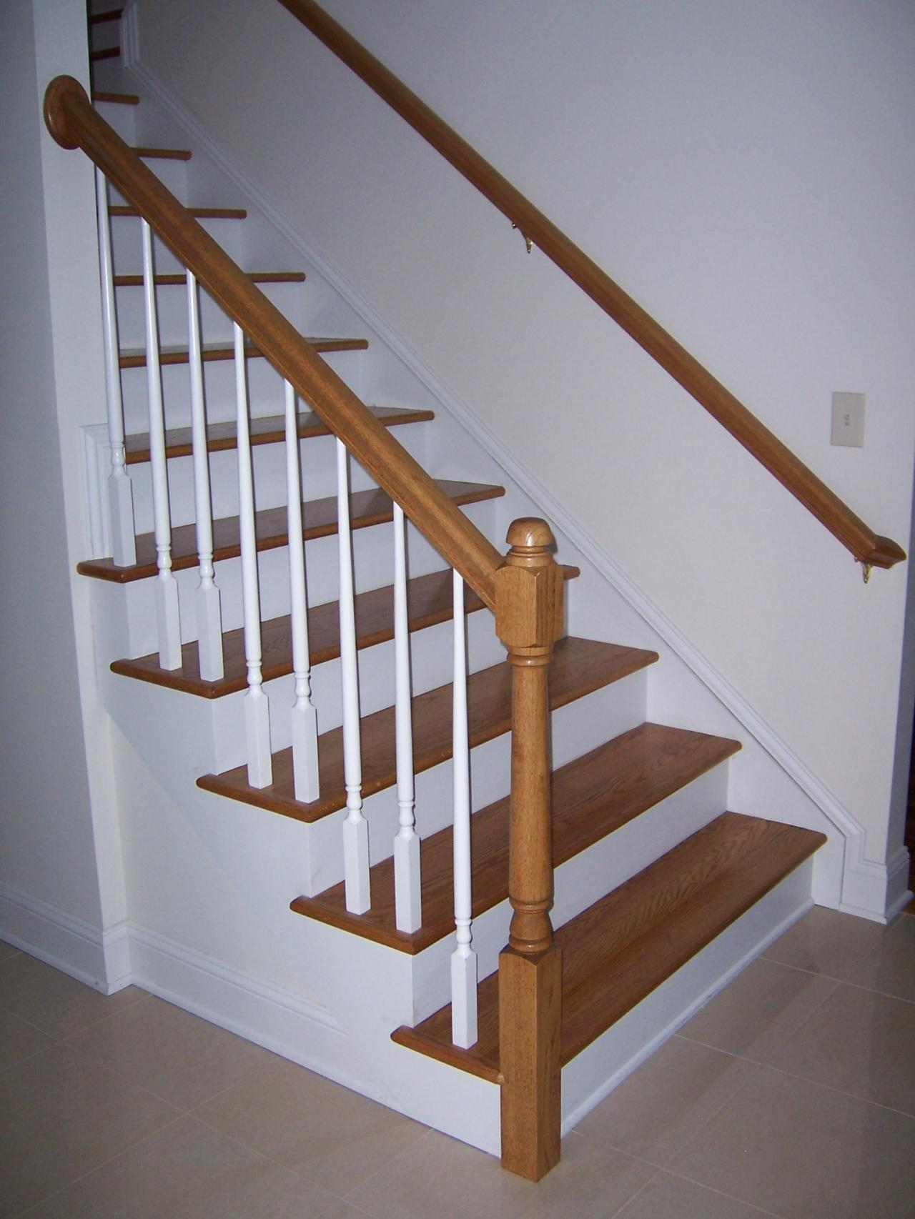 Exceptionnel Choose Newel Post And Baluster Style