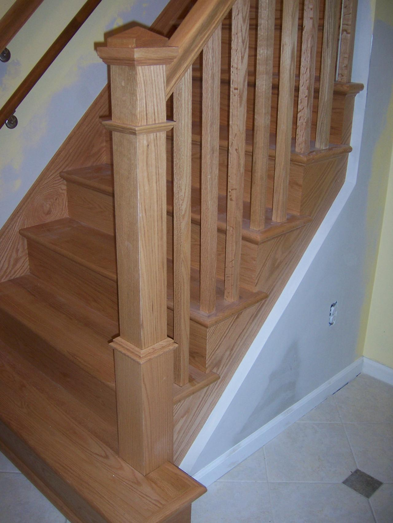 Bennett Stair Company Inc Straight Stairs