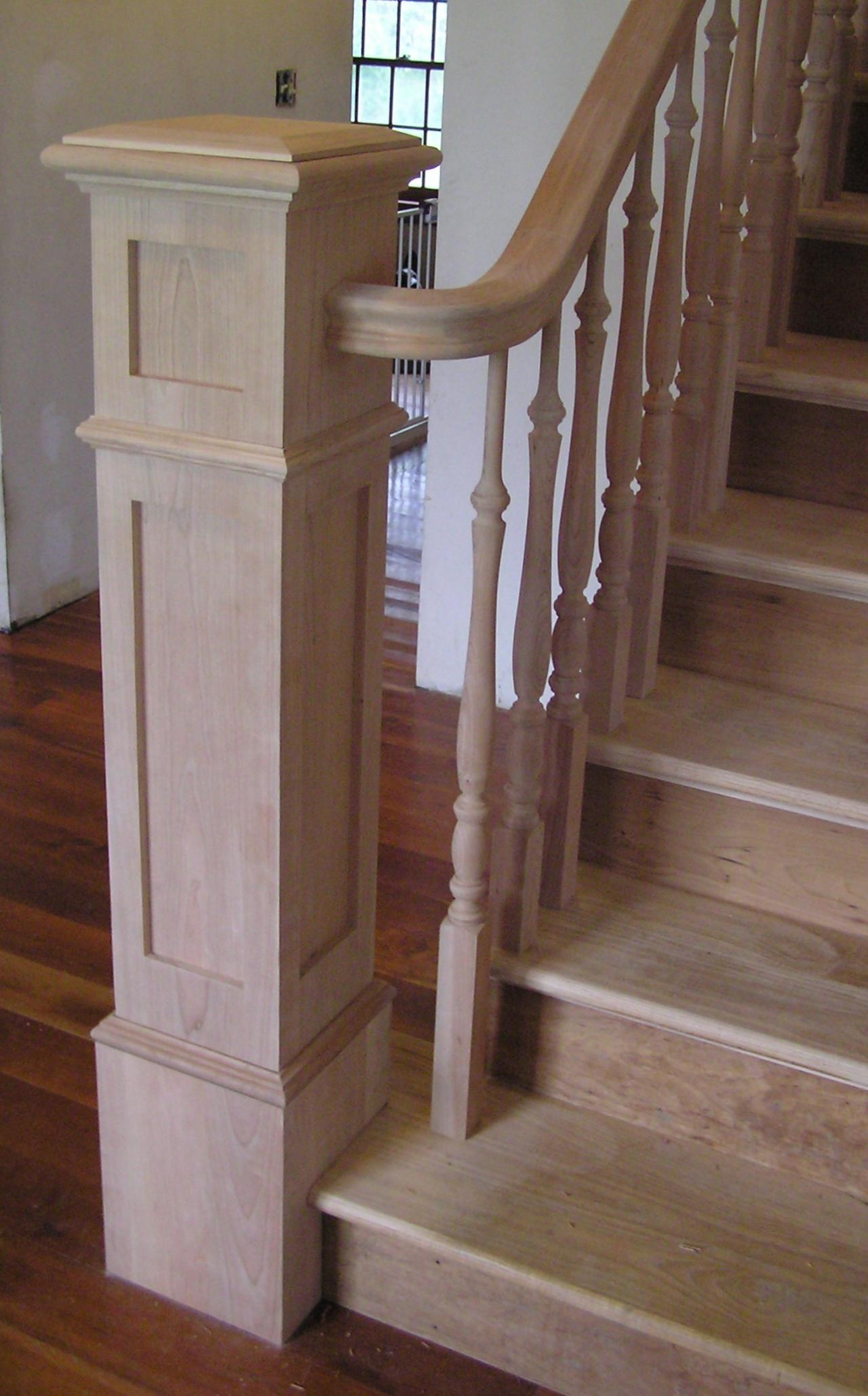 Stair Box Newel Post
