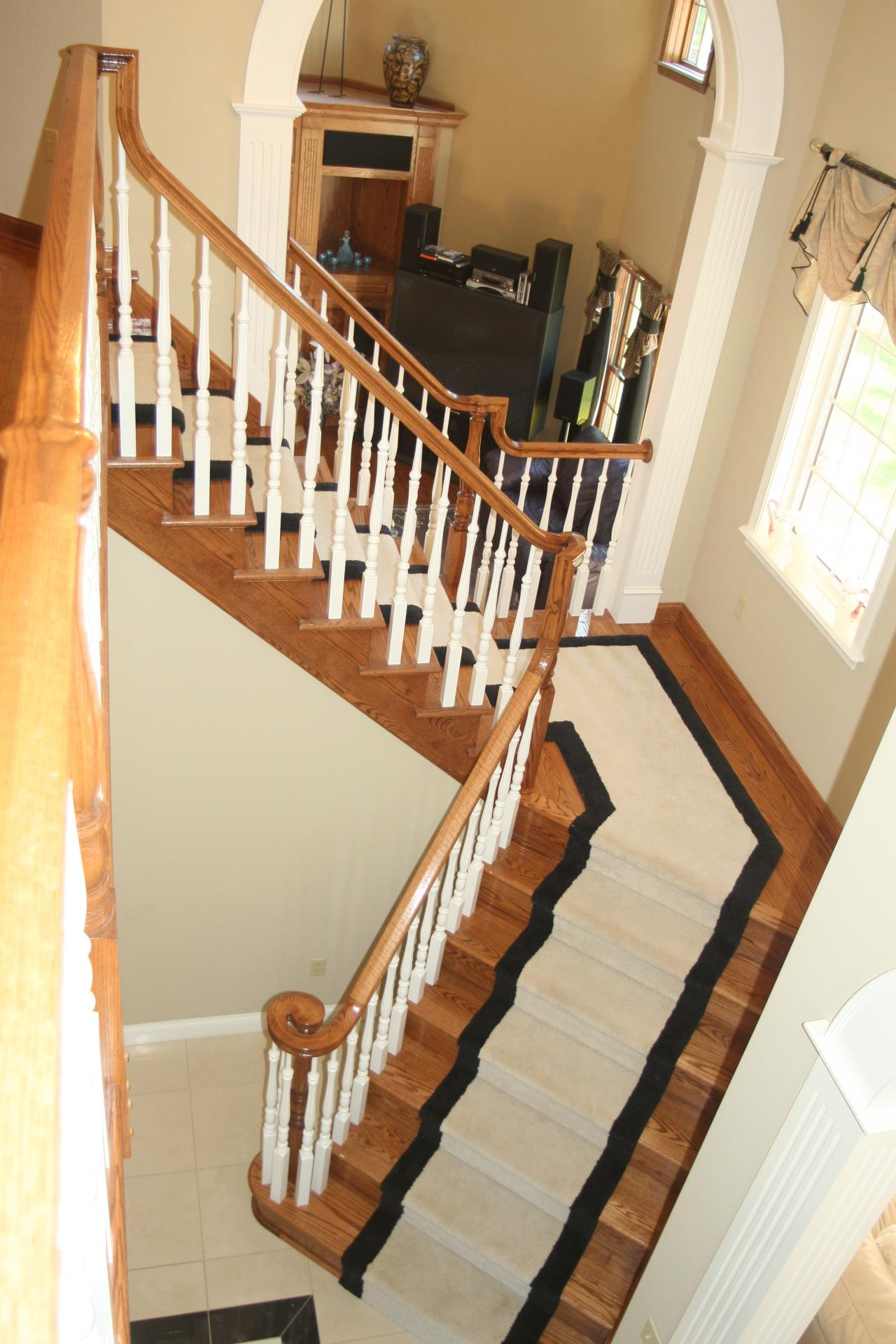 ... 6510 Rail With Volute And Fluted 5315 Balusters ...