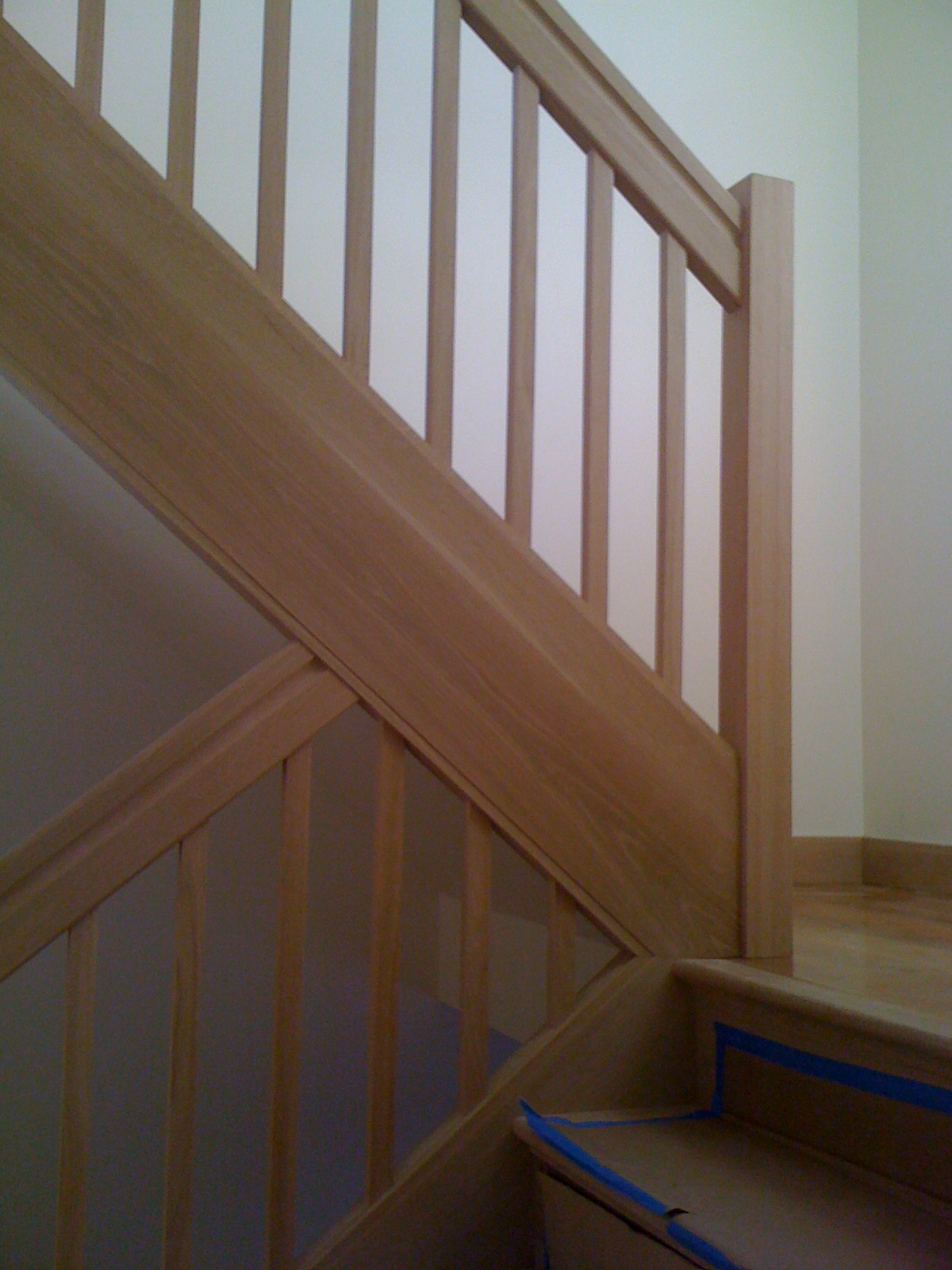 ... White Oak Box Stair
